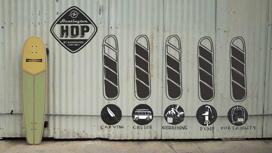 Huntington Hop Longboard Hamboard