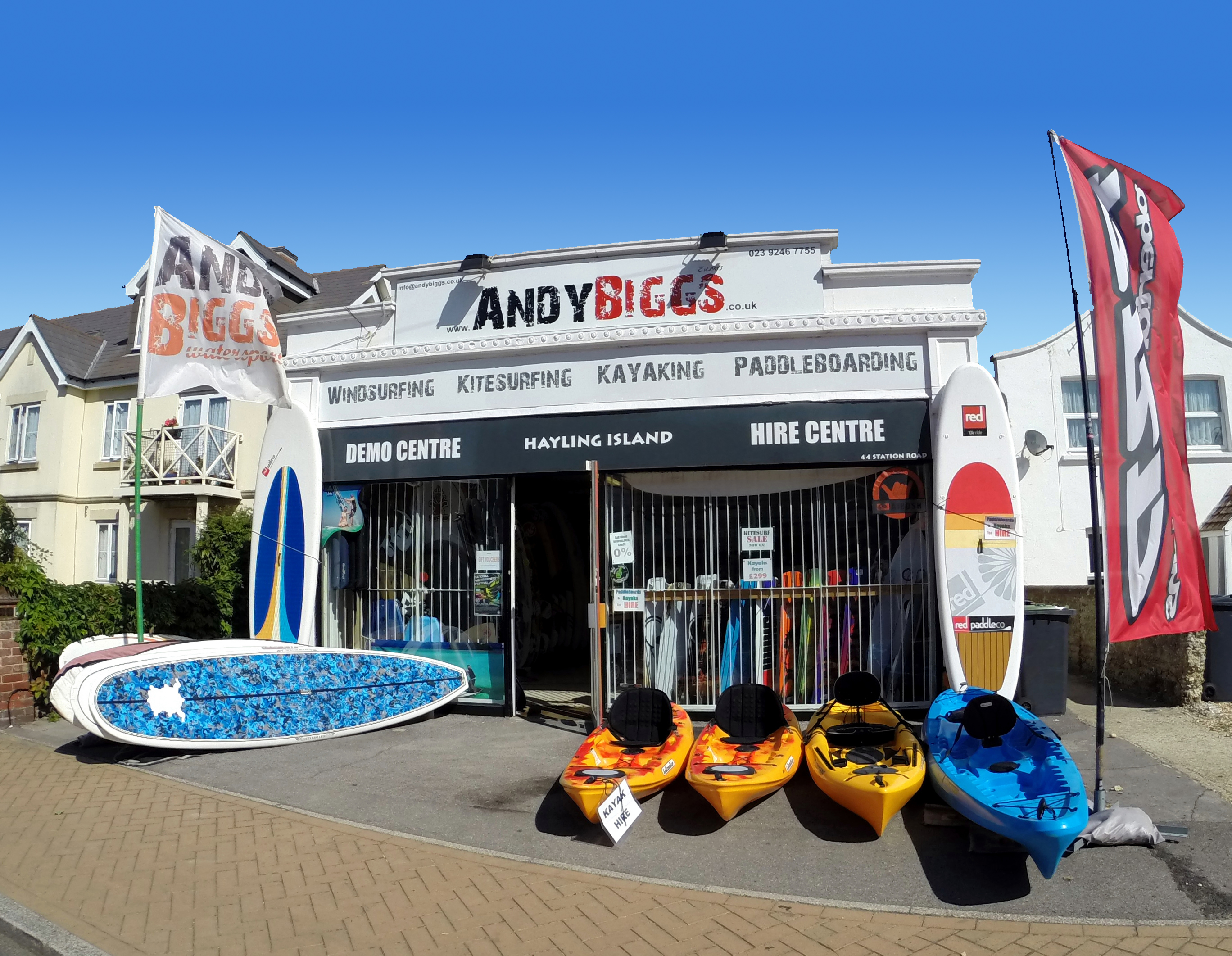 Hayling Island AndyBiggs Watersports