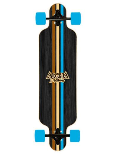 """Aloha Stripes 39"""" Longboard"""
