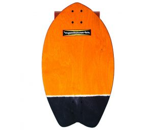 Hamboard Biscuit Land Surfer Orange Black Tail
