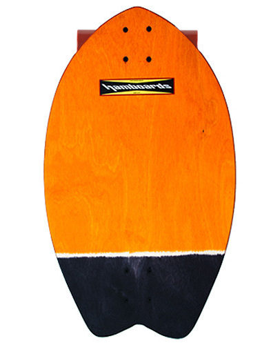 Hamboard Biscuit Land Surfer Orange Black Tail