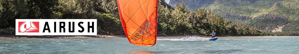 Airush Kitesurfing at AndyBiggs Watersports
