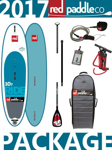10'7 Ride WindSUP 2017 Red Paddle Co Package
