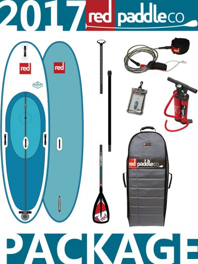 10'7 Ride WindSUP 2017 Red Paddle Co Carbon Alloy Package