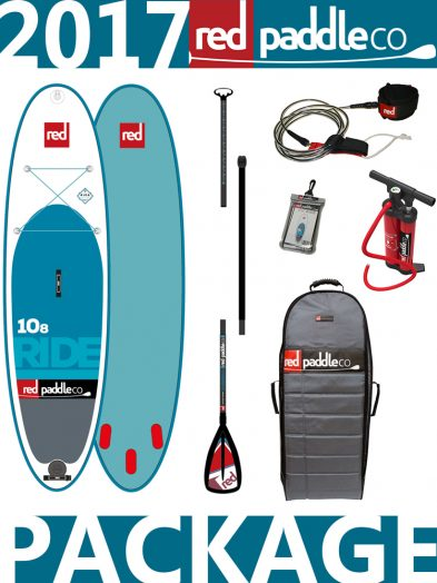 10'8 Ride 2017 Red Paddle Co Alloy Package