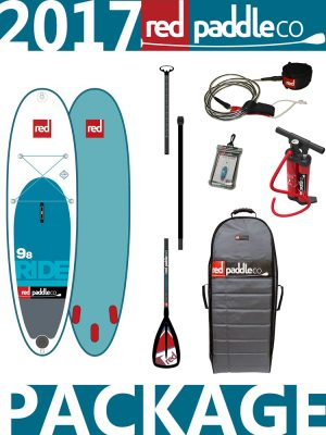 9'8 Ride 2017 Red Paddle Co Alloy Package