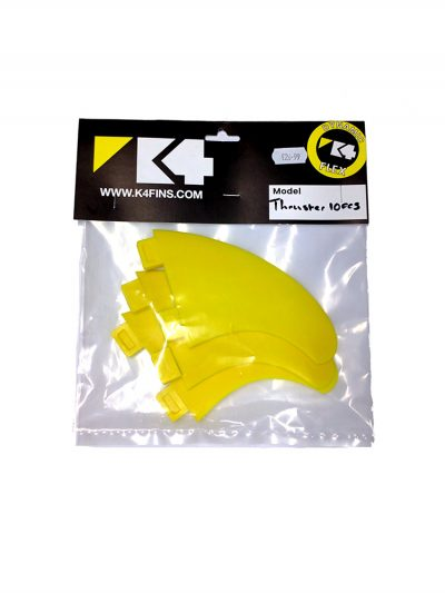 K4 FCS Thruster Fin Set