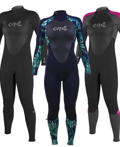 O'Neill Epic 3/2mm Back Zip Ladies Spring/Summer Wetsuit