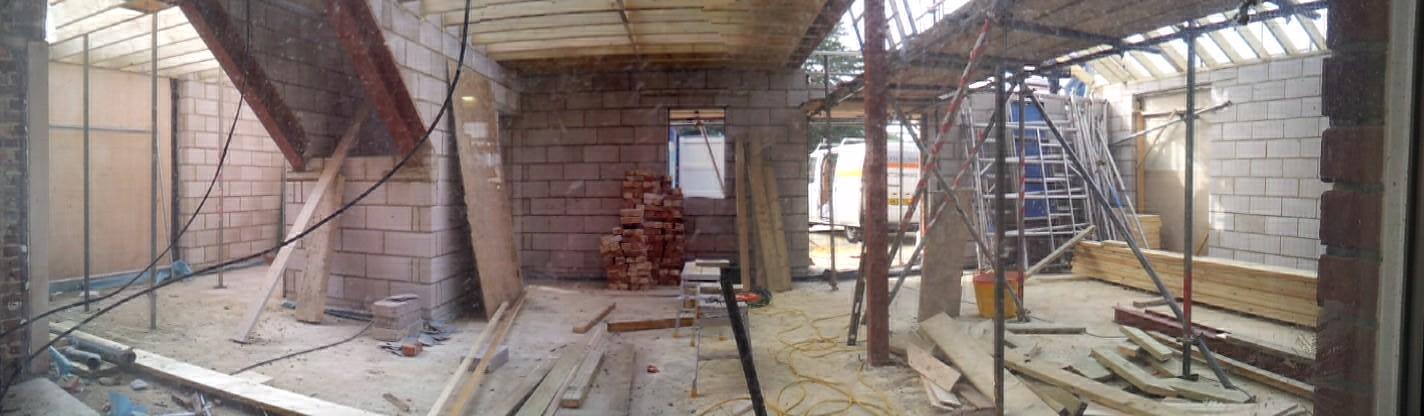 Gosport AndyBiggs STore under construction in 2012