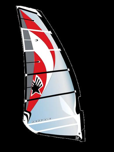 Ezzy Cheetah Black 2017 Windsurfing Sail