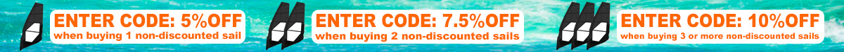 Windsurf Sails Discount Codes