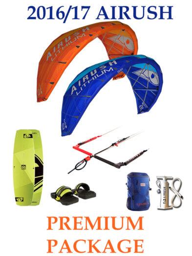 Airush Lithium Premium Kitesurfing Complete Package