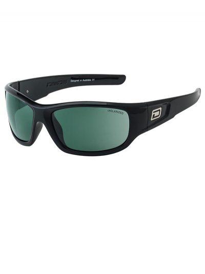 Dirty Dog Sythe. Black Frame. Green Polarised.