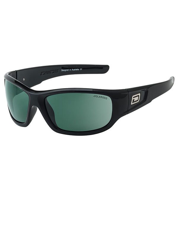 Dirty Dog Sythe. Black Frame. Green Polarised.