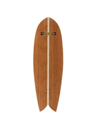 Hamboard Fish 4'5'' Land Surfing Longboard