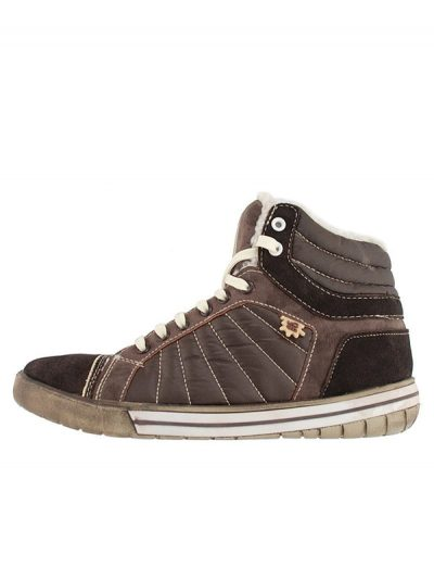 Hey Dude . MID High Top Boot. Brown.
