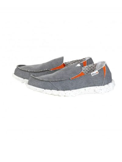 Hey Dude Farty Funk Grey Slip On