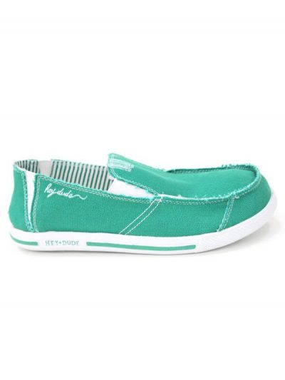 Hey Dude Gus Green Slip On