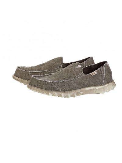 Hey Dude Shoes Farty Slip On Mule Coffee