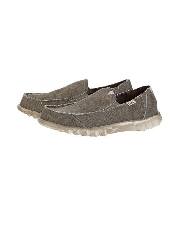 Hey Dude Shoes Farty Slip On Mule Coffee