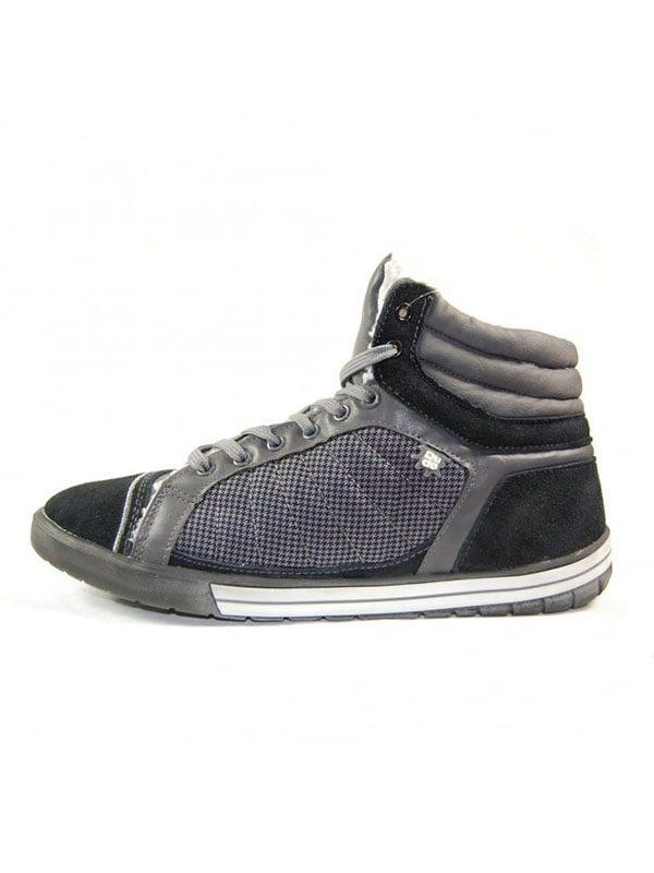 Hey Dude Shoes. NYX Hi Top Boot. Black