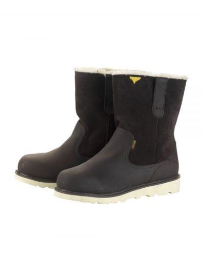 Hey Dude Shoes. Vigo Easy Life Boot. Dark Brown