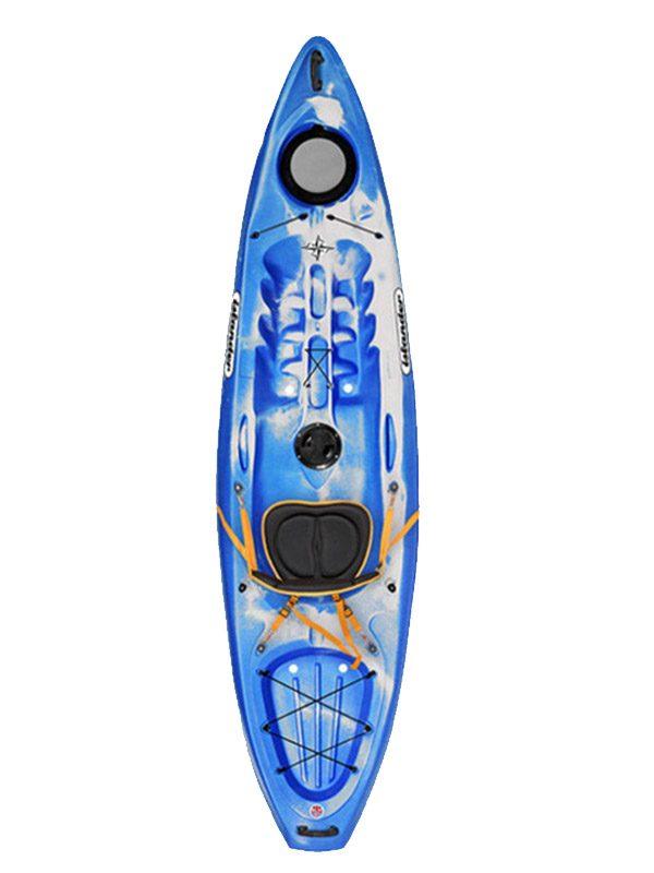 Islander Calypso Sport Sit On Top Kayak Aqua Granite Boat only