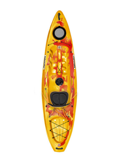 Islander Calypso Sport Sit On Top Kayak Saffron Red