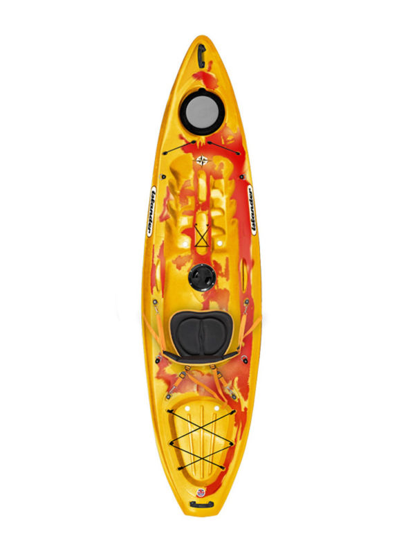 Islander Calypso Sport Sit On Top Kayak Saffron Red