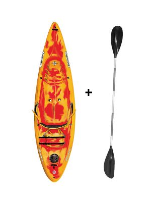 Islander Paradise 1 Sit On top Kayak Saffron/Red