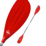 Palm Colt Junior 185+195cm Kayaking Paddle Red