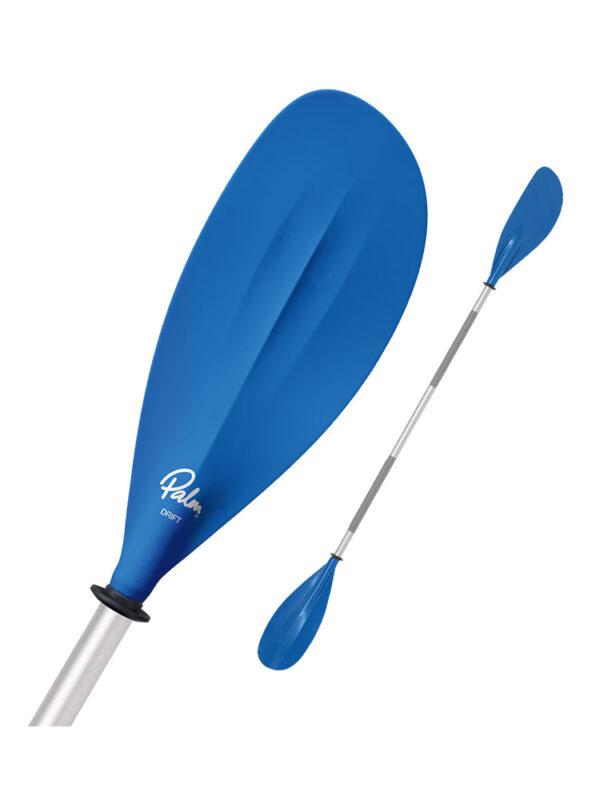 Palm Drift Classic Kayaking Paddle Blue