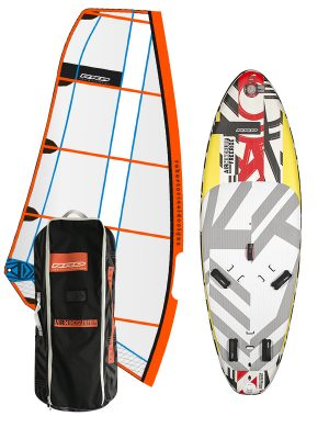 RRD Air Windsurf Rig and Windsurfing Board Package