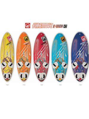 RRD Firemove E-tech V2 Windsurfing Board