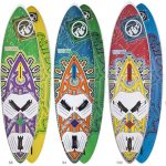 RRD Freestyle Wave Wood Windsurfing Board