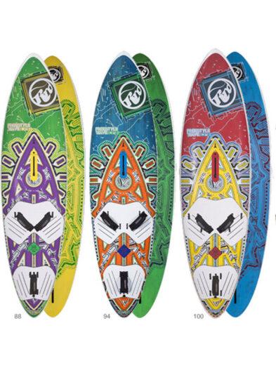 RRD Freestyle Wave Wood Windsurfing Board