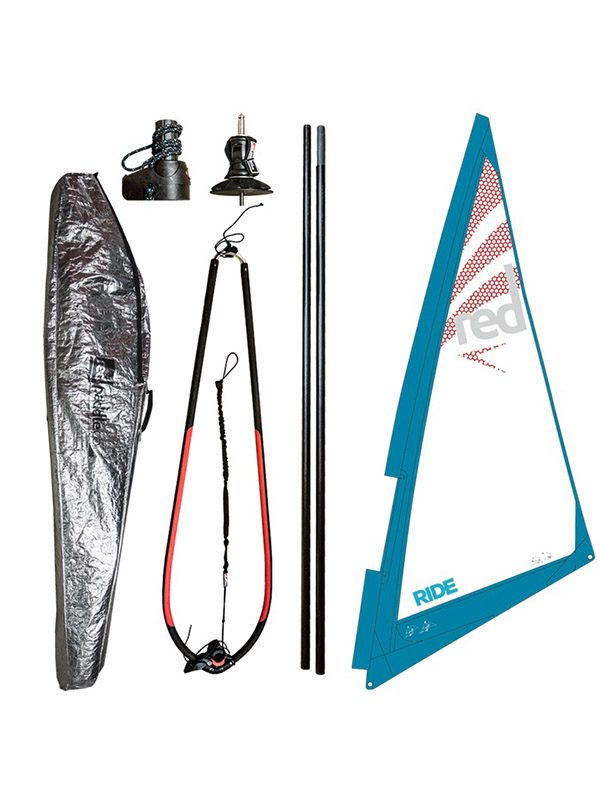 Red Paddle Co Windsup Windsurfing 2.5m Rig Package
