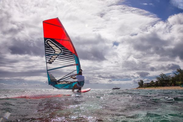 Severne Turbo GT 2017 Windsurfing Sail action