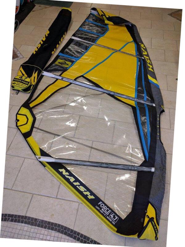 Second Hand 4.7m Naish Force 4 2016 Windsurfing Sail