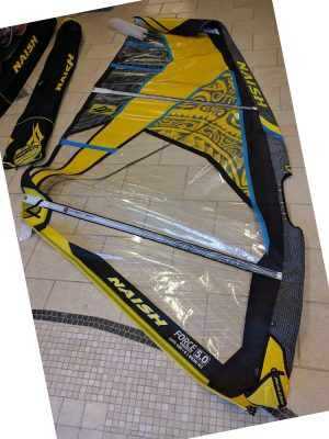 Second Hand 5.0m Naish Force 3 2016 Windsurfing Sail