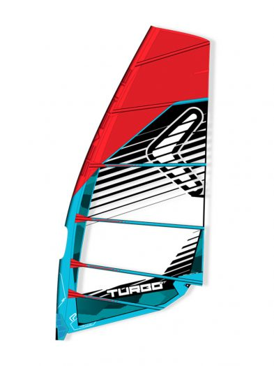 Severne Turbo GT 2017 Windsurfing Sail blue.
