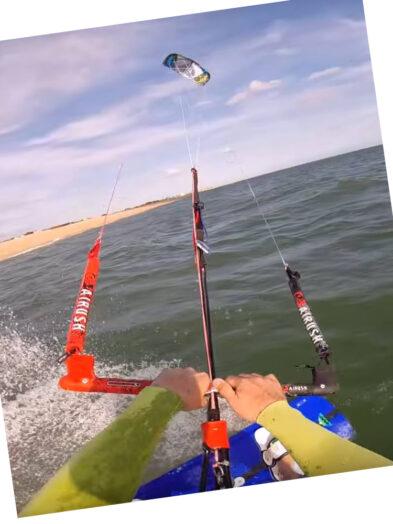 Varial X 9m Airush second hand kitesurfing kite inc analogue bar and line