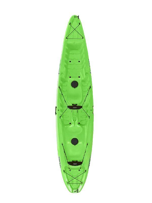 Wilderness Systems Tarpon 130T Double Sit On Top Kayak Lime Green Boat Only