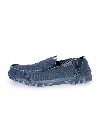 Hey Dude Shoes Farty Classic Slip On Mule Navy