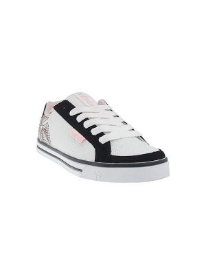 Animal Shoes Nancy Trainer White-Black-Pink UK4 Only