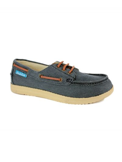 Brakeburn Jerry Ladies Lightweight Canvas Boat Shoe