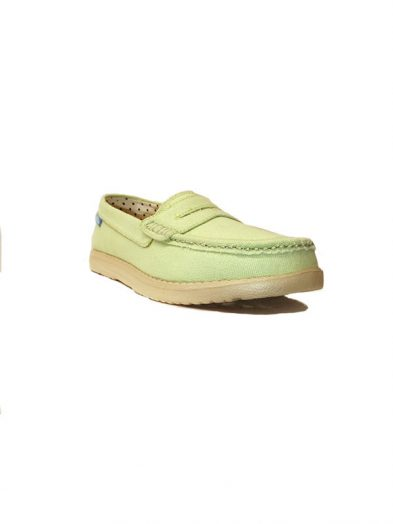 Brakeburn Shoes Penny Pump Shoe Lily Green