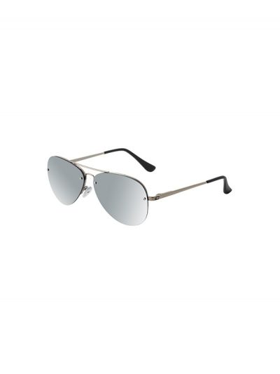 Dirty Dog Sunglasses Astro Silver Frame Silver Mirror Polarised Lens