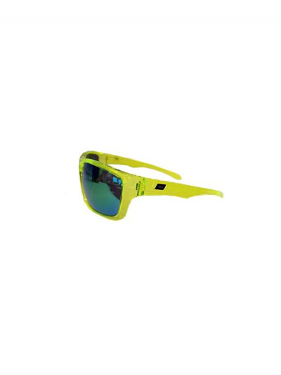 Dirty Dog Sunglasses Axle Crystal Green Frame Green Fusion Polarised Lens