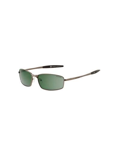Dirty Dog Sunglasses Goose Gunmetal Frame Green Polarised Lens